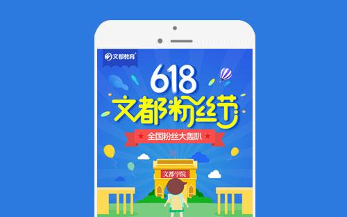 《文都618粉丝节》微信营销活动